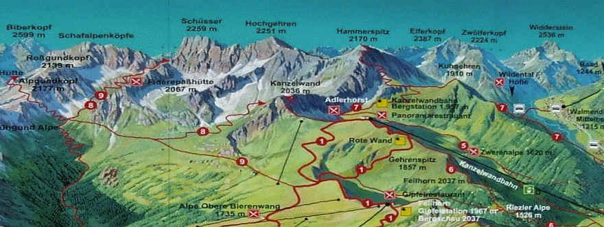 Mit der Bergbahn auf das Fellhorn (Oberstdorf) - Verbund ...