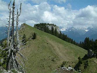 Klettersteig Besler : Der besler mit seinem klettersteig riedberg pass fischen