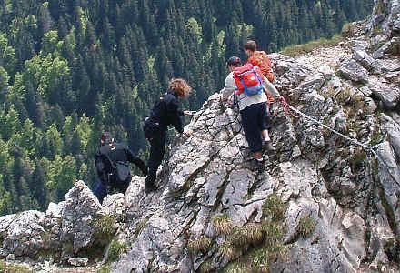 Klettersteig Am Ettaler Mandl : Auf das ettaler manndl mit dem kloster ettal