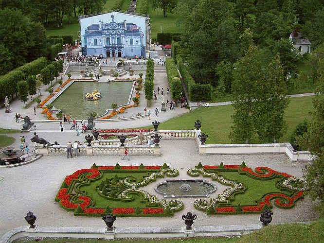 Schloss Linderhof Konig Ludwigs Refugium Beim Kloster Ettal